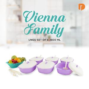 Vienna Family Ungu Set 2800 ML (Set of 6)