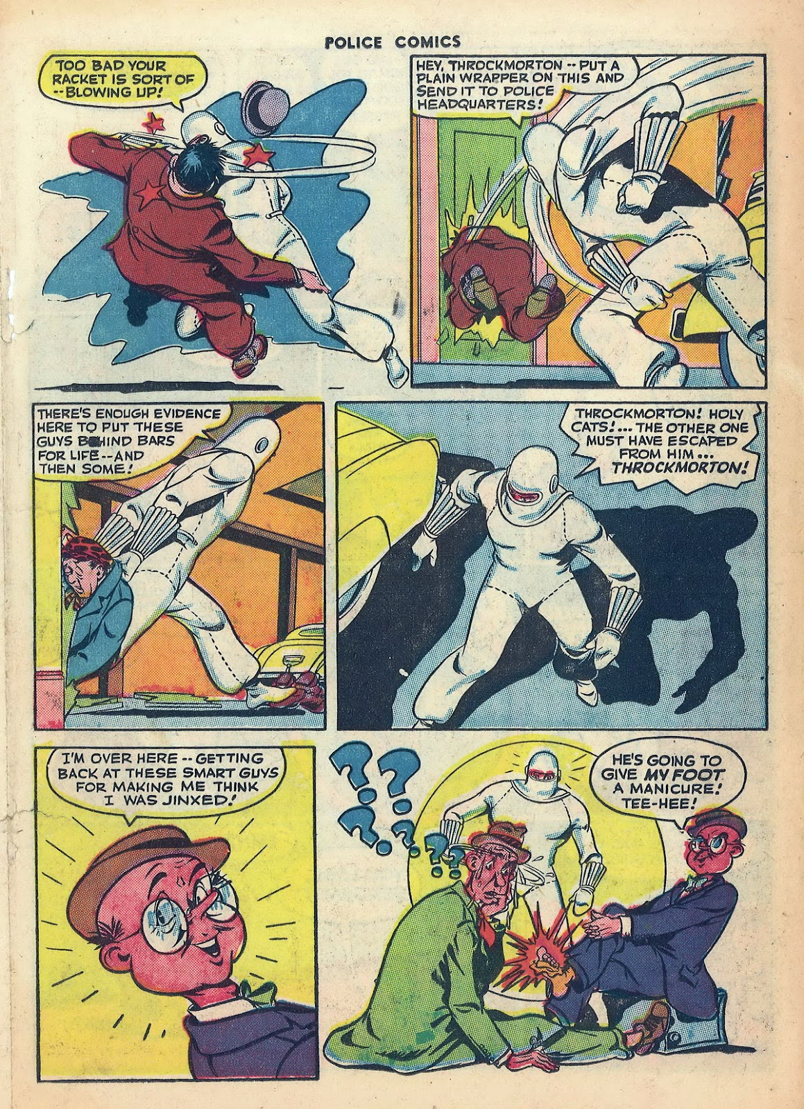 Police Comics issue 45 - Page 29