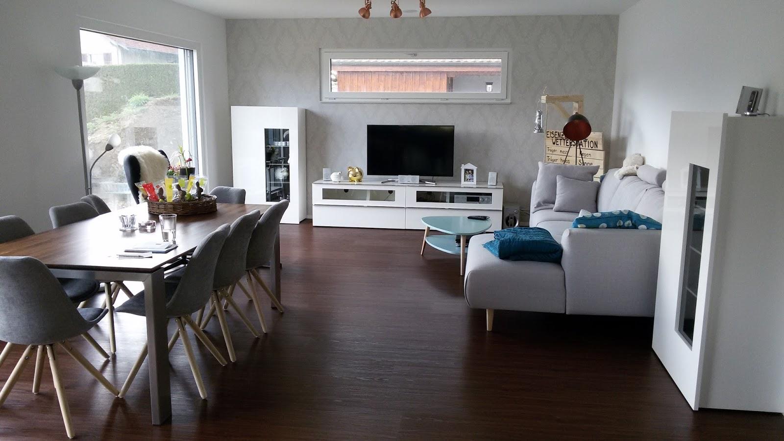 Boden Küche Wohnzimmer   Weisse Küche Dunkler Boden Best Bodenbelag ...