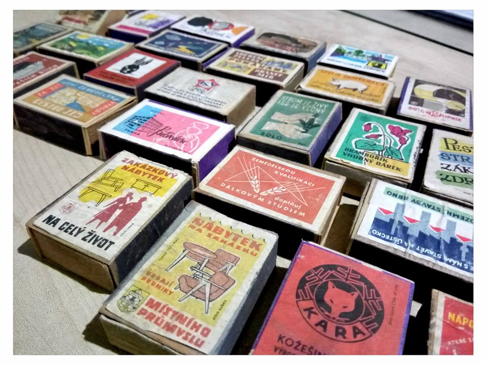 MATCHBOXES AND LABELS COLLECTION: CZECH REPUBLIC