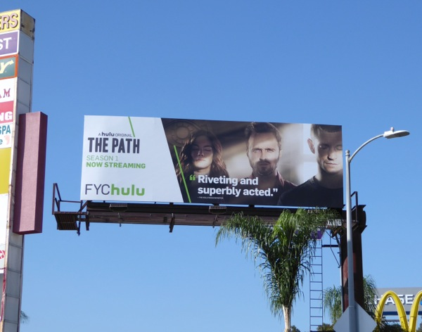 The Path season 1 consideration billboard