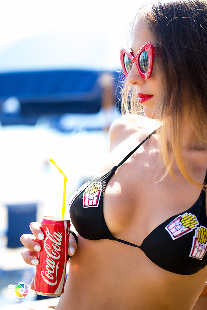 bikini con patches