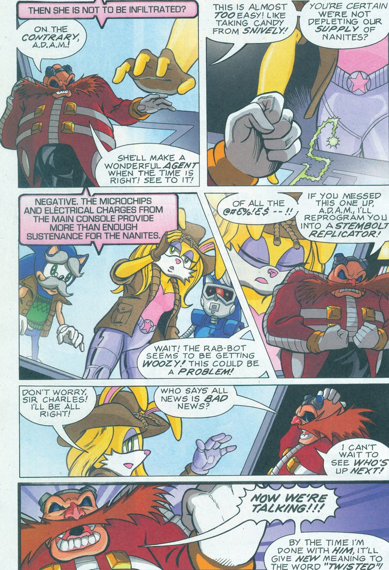 Read online Sonic The Hedgehog comic -  Issue #159 - 22