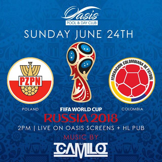 POLAND VS COLOMBIA LIVE STREAM WORLD CUP 24 JUNE 2018