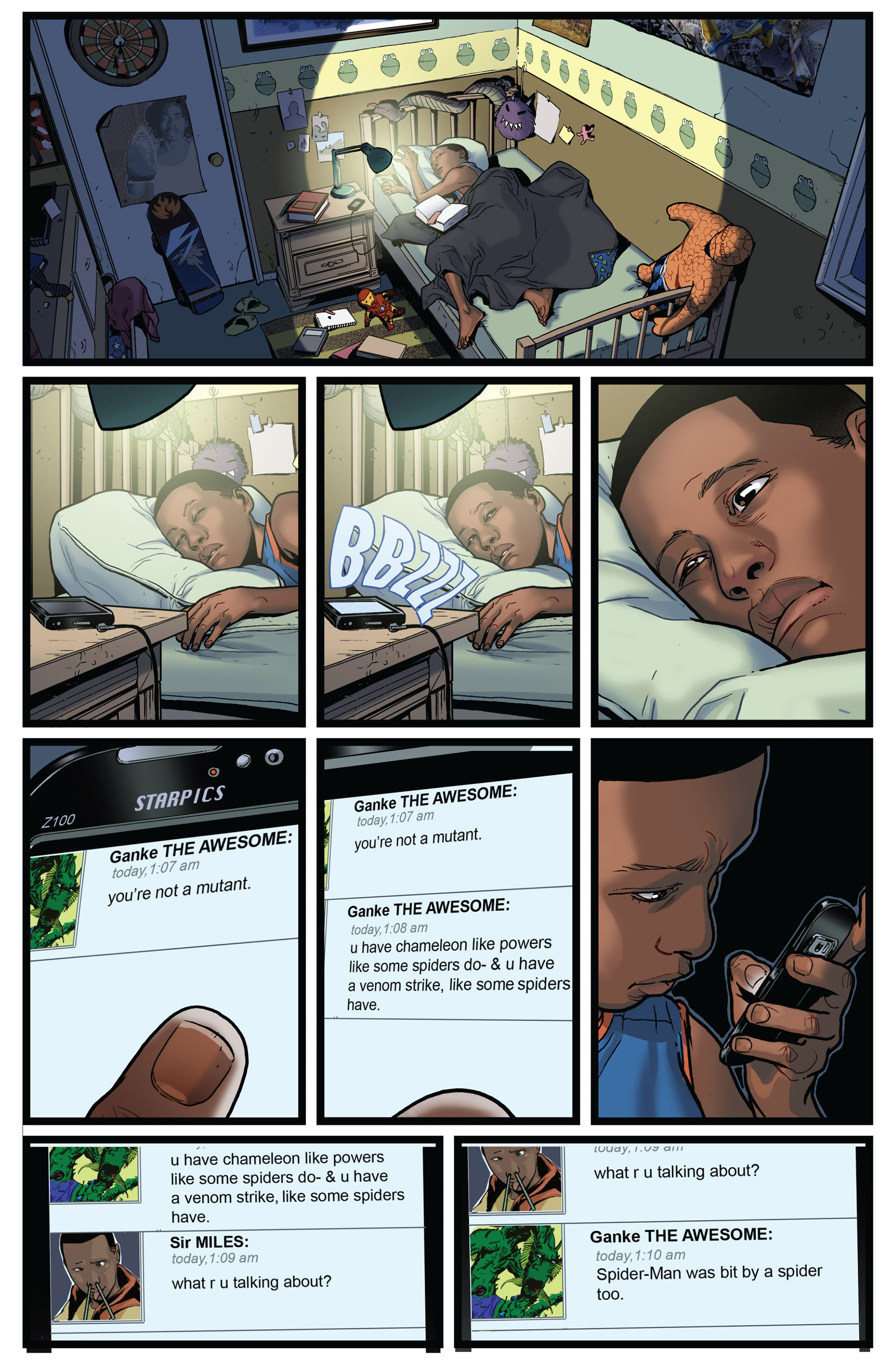 Read online Ultimate Comics Spider-Man (2011) comic -  Issue #2 - 19