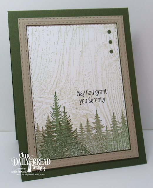 ODBD Seek Me, ODBD Wood Background, ODBD Custom Double Stitched Rectangles Dies, Card Designer Angie Crockett
