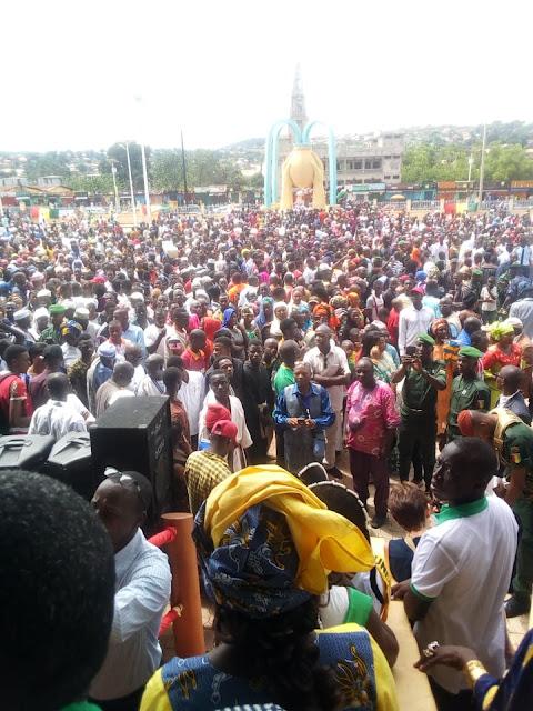 La région administrative  de Mamou célèbre les 60 ans d'indépendance de la Guinée