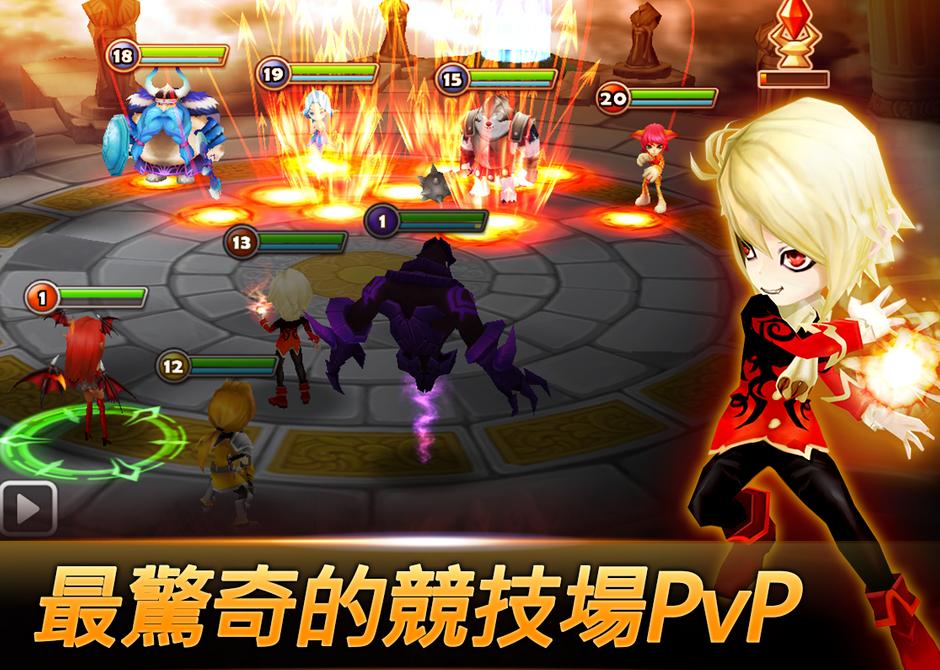 Android:魔靈召喚 APK下載(天空之役),好玩的3D手機RPG遊戲APP推薦 (Summoners War)