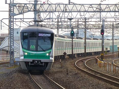 常磐線 東京メトロ千代田線直通 明治神宮前行き2 16000系