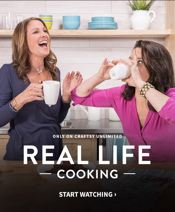 Real Life Cooking on Craftsy!