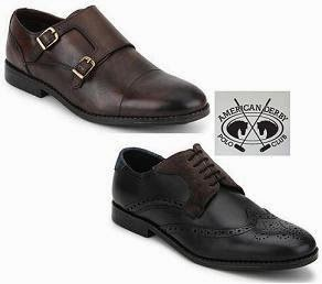 Genuine Leather American Derby Polo Club Formal / Casual Shoes