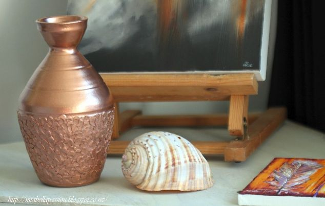 Copper Upcycled Vase