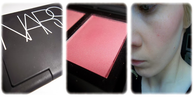 Swatch Blush Teinte Amour - NARS