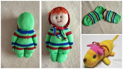 muñecos-con-calcetines-diy