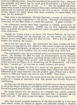 Introducción al libro del Torneo de Ajedrez de Londres 1946 (2)