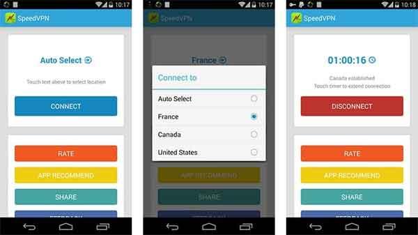 10 aplikasi VPN terbaik di Android untuk membuka situs yang diblokir