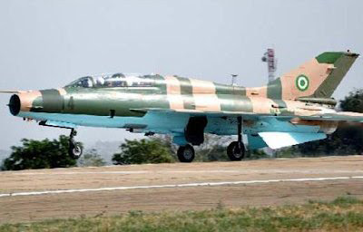 nigerian fighter jet boko haram camp