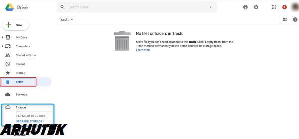 Cara Hapus Data Google Drive Secara Permanen