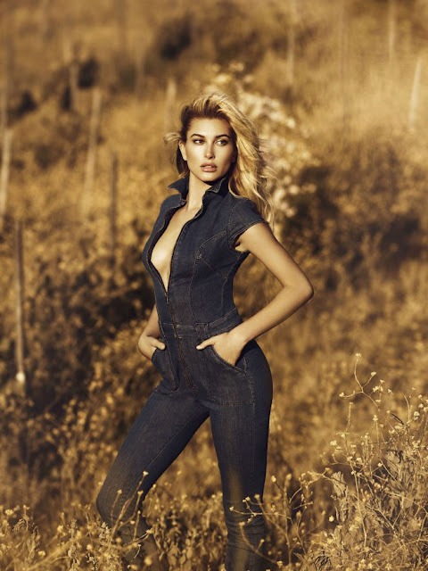 Hailey Baldwin – Guess Fall/Winter 2016 Campaign