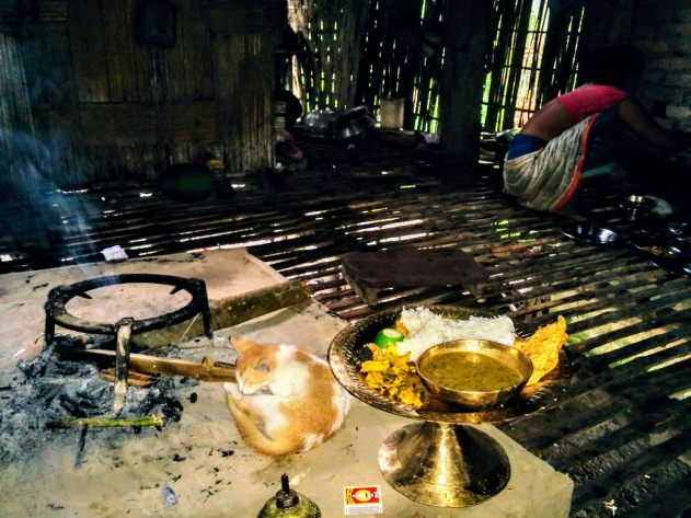Delicious Assamese meals at Mishing tribal homes