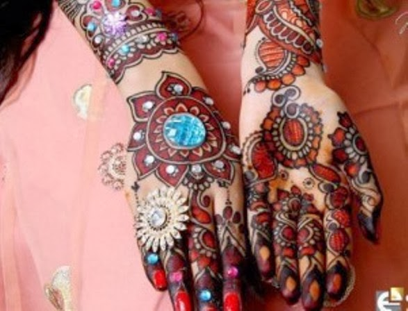 latest and stylish collection of mehndi designs from 2014