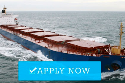 Cook For Bulk Carrier Vessels (Indonesia)