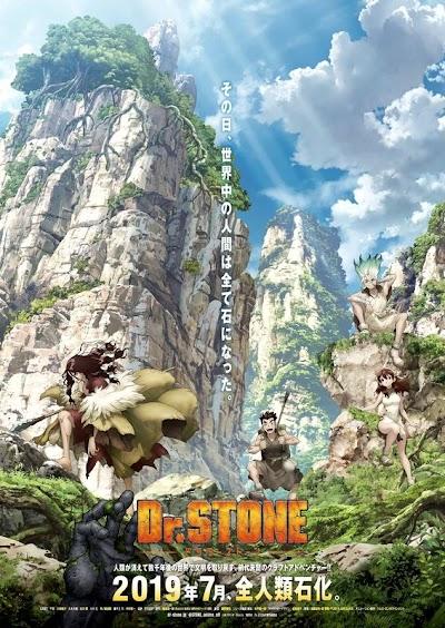 تقرير انمي Dr. Stone (طبيب الصخر)