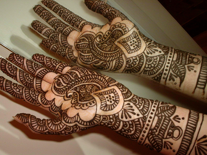 Mehndi Designs Full Hands