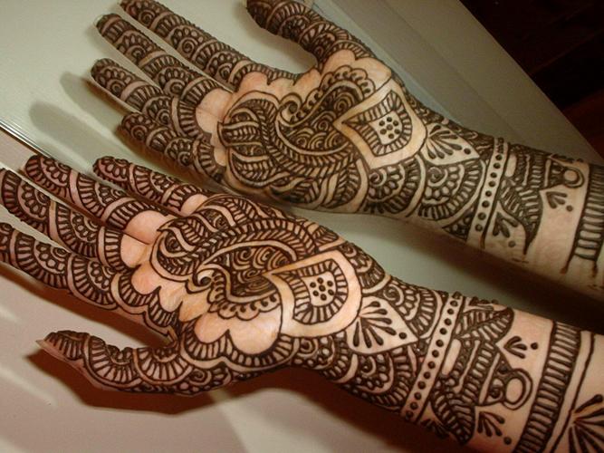 Mehndi Designs Full Hands