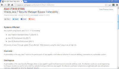 Oracle Java 7 Security Manager Bypass Vulnerability