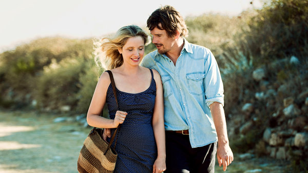 Before Midnight stars Ethan Hawke and Julie Delpy.