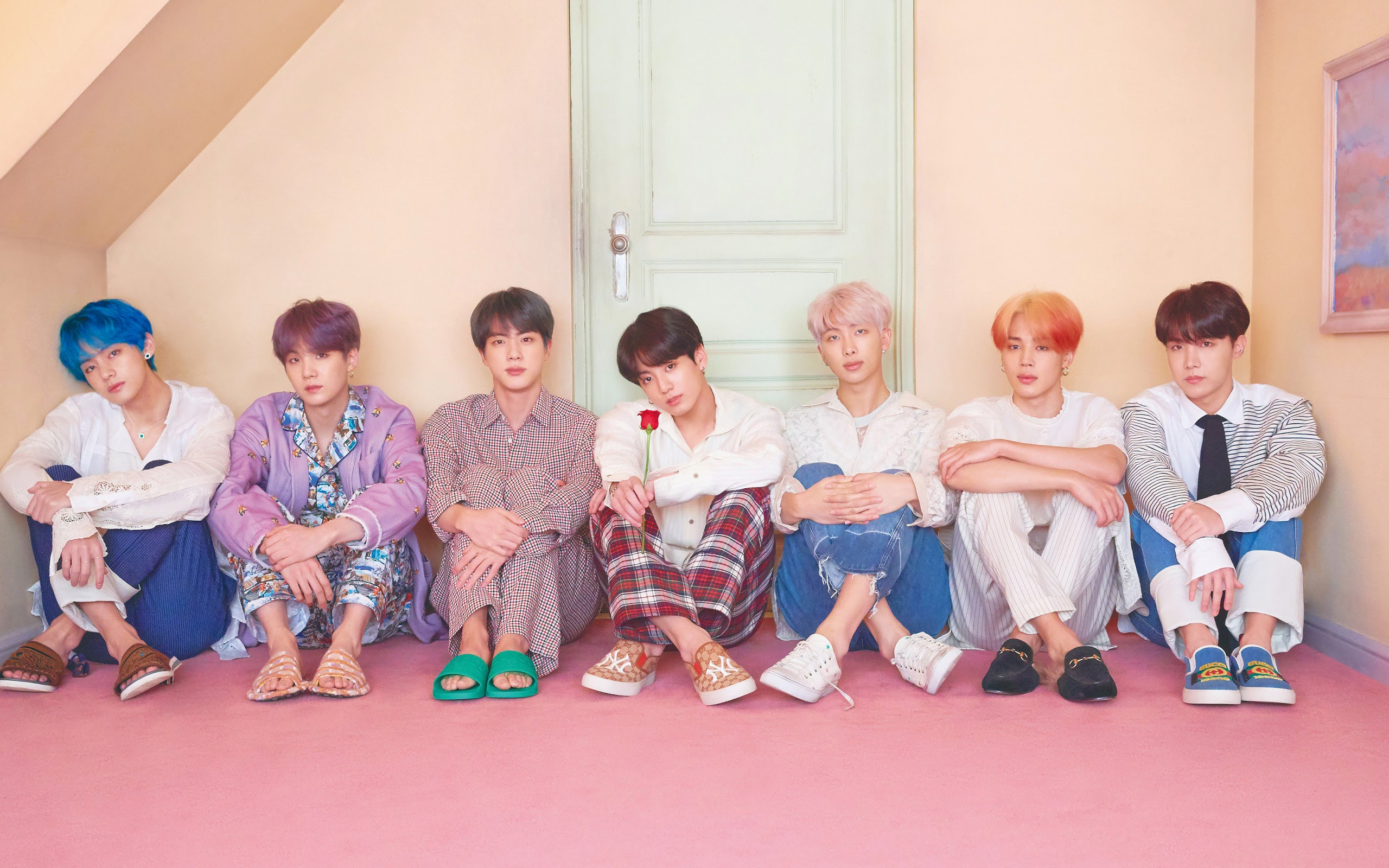 bts map of the soul persona members uhdpaper.com 4K 25