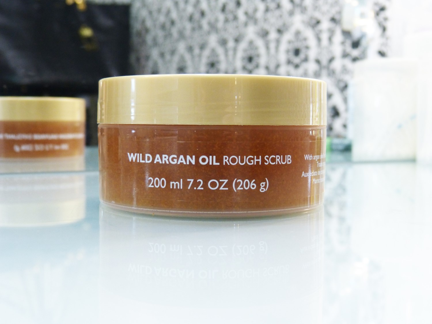 The Body Shop: Esfoliante Wild Argan Oil