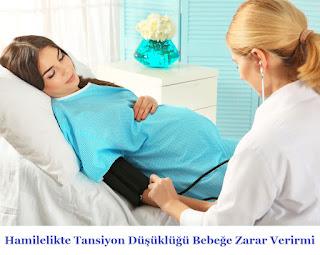Hamilelikte Tansiyon Düşüklüğü Bebeğe Zarar Verirmi