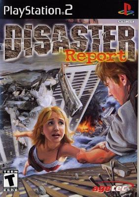 Disaster Report e Raw Danger! (PS2) (2 DVD's)