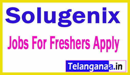 Solugenix Recruitment Jobs For Freshers Apply