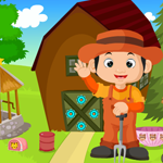 Games4King Cute Little Farmer Rescue