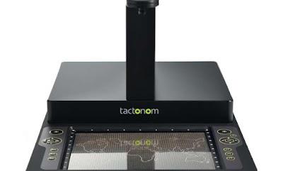 Tactonom dispositivo de traducción de Excel a braile