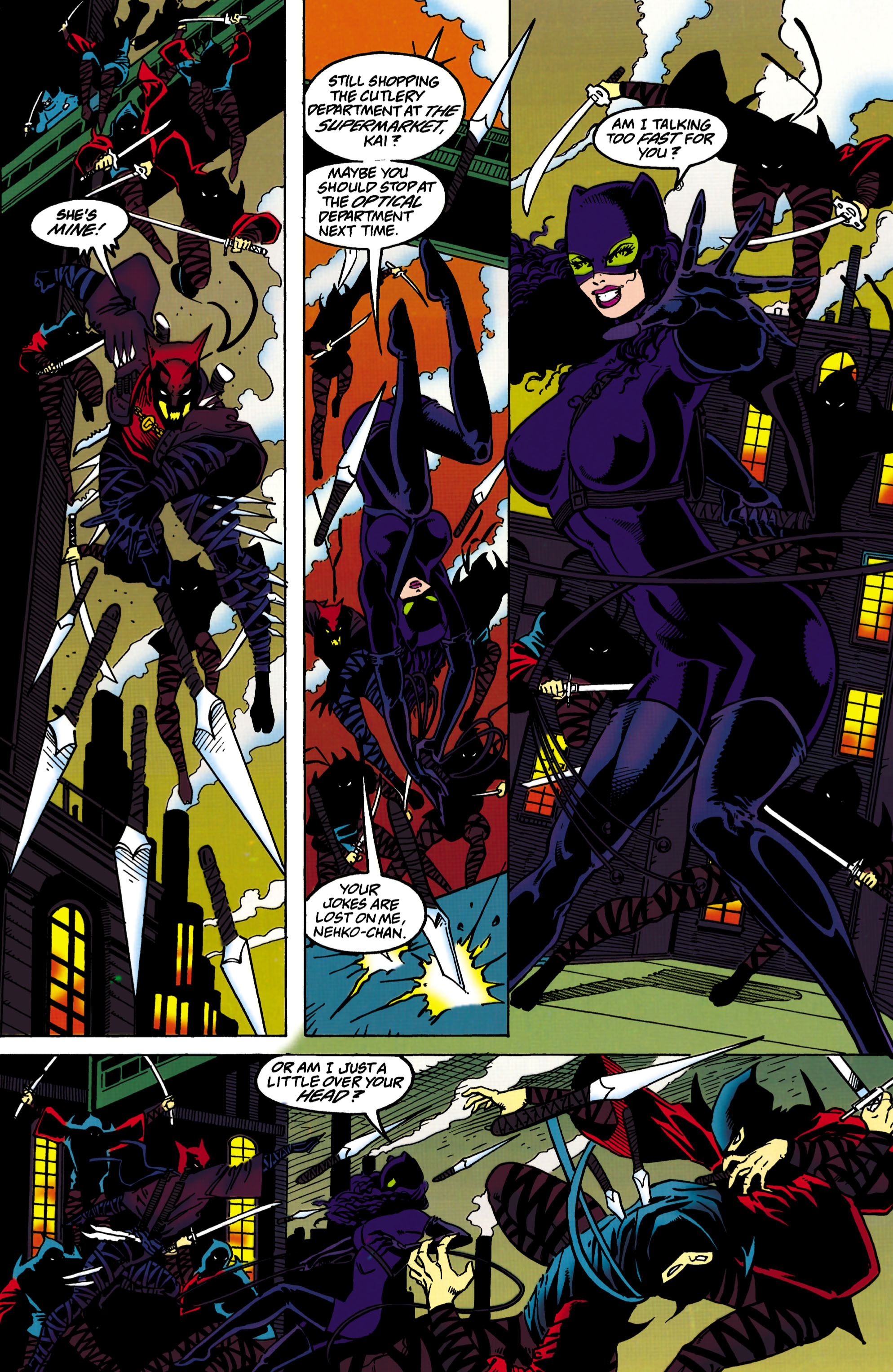 Catwoman (1993) Issue #33 #38 - English 13