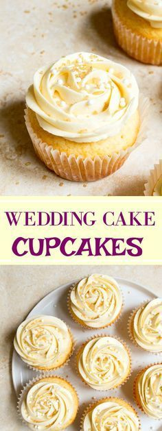 Weddíng Cake Cupcakes For Two