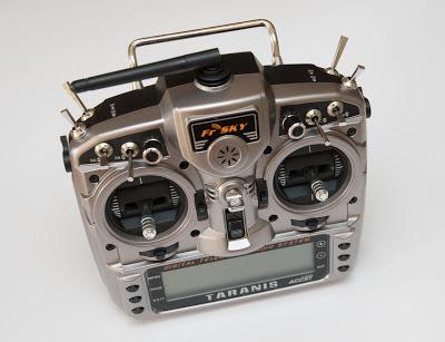 FrSky Taranis transmitter