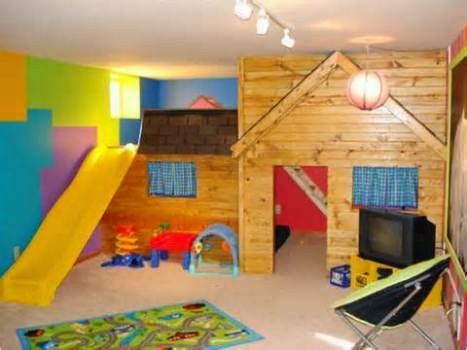 wall paint ideas for playroom