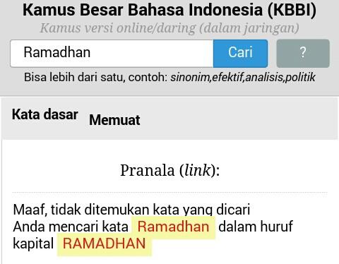 arti kata napas kamus besar bahasa indonesia kbbi online fenomena saat bulan ramadan