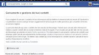 Elimina contatti e numeri condivisi su Facebook, anche di non iscritti