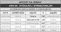 LOTECA 704 - HISTÓRICO JOGO 03
