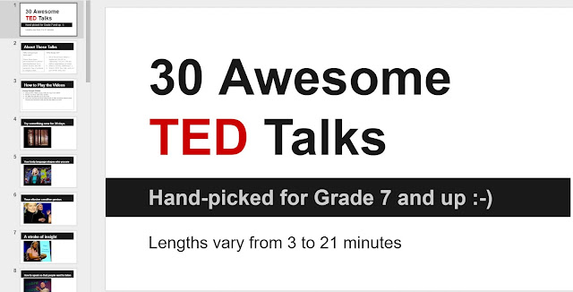 I find public speaking skills to be incredibly important, and I want all of my students leaving middle school with strong presenter skills. That's why I do a mock TED conference in my classroom! This blog post gives all of the details of the why, how, and when for our mock TED talks, so click through to get all the details!