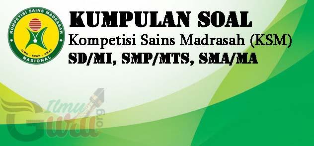 Soal KSM IPA MTs 2019