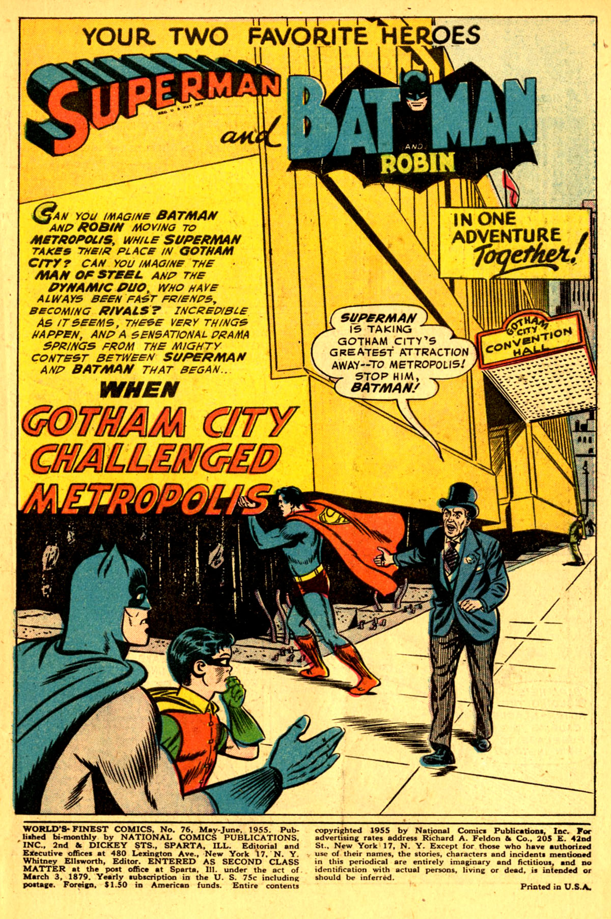 Read online World's Finest Comics comic -  Issue #76 - 3