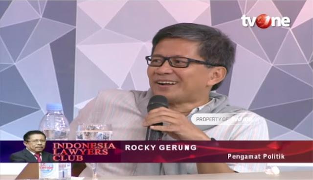 Rocky Gerung Kritik Presiden Jokowi yang Kaget Soal Tiket Pesawat dan Avtur