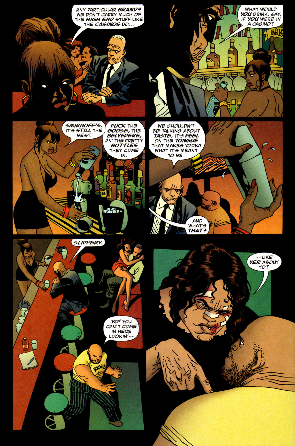 Read online 100 Bullets comic -  Issue #64 - 12